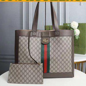 💋REAL💋Gucci💋GG handbag with small bag inside